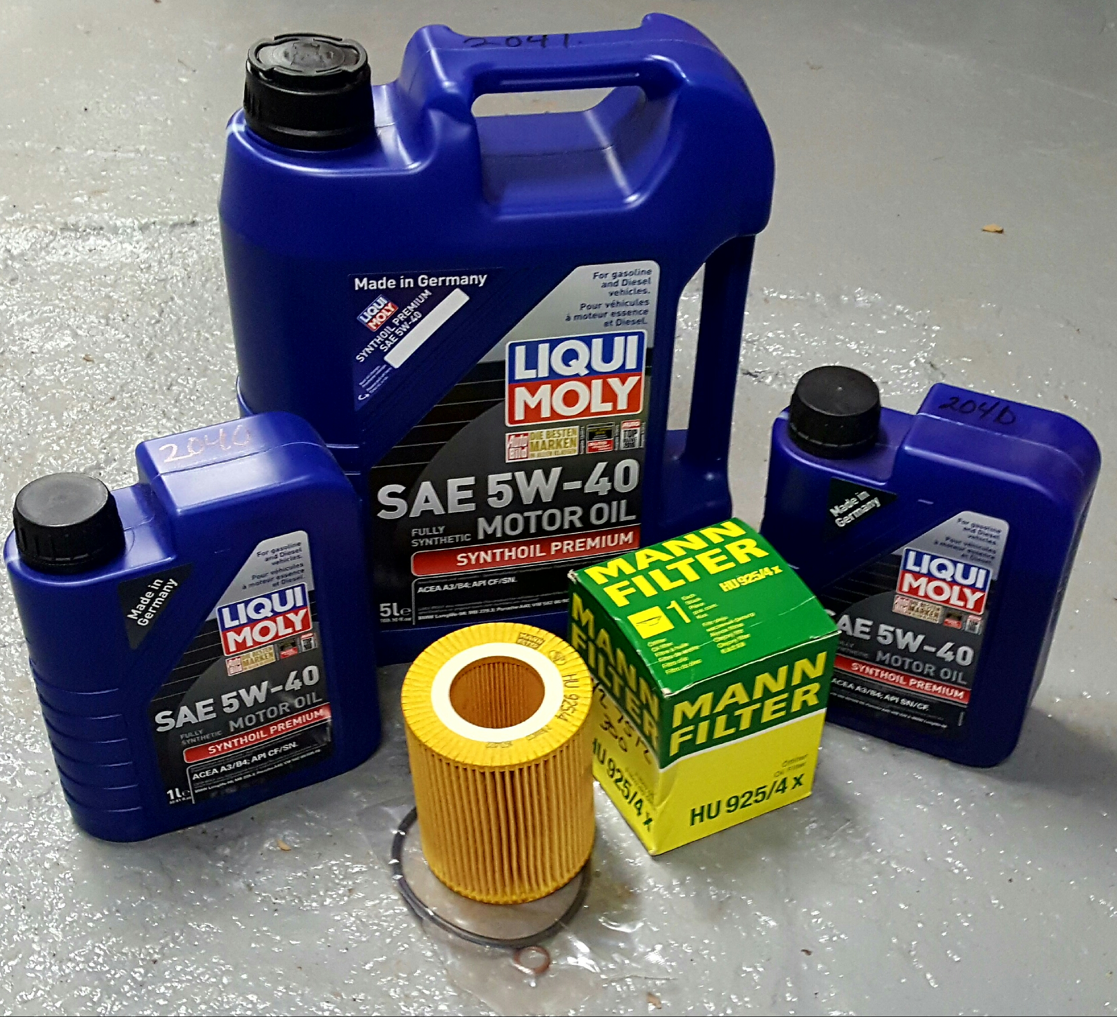 Liqui Moly Oil Change Package Bmw E36 E39 E46 E53 E83
