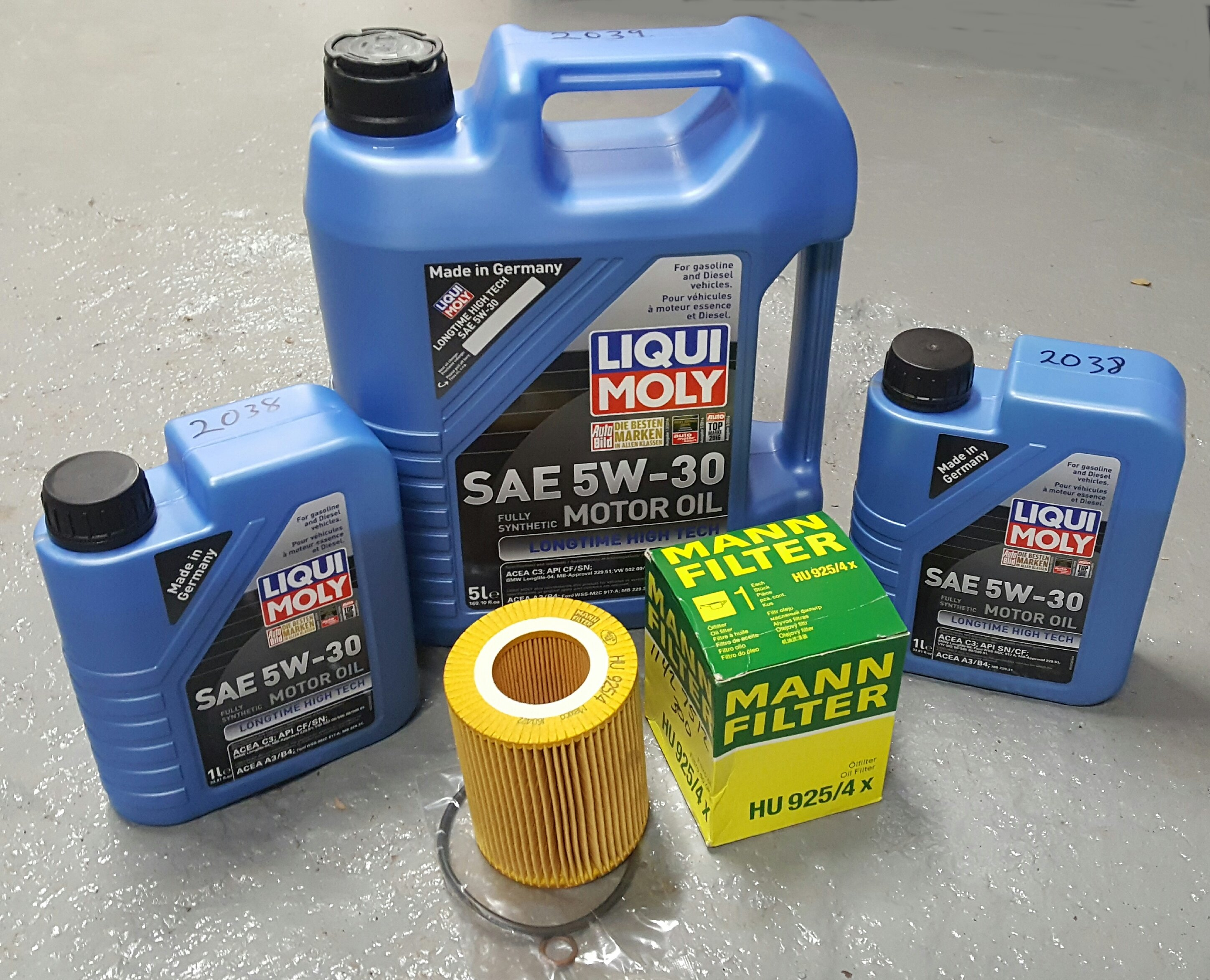 Liqui Moly Oil Change Package Bmw E36 E39 E46 E53 E83 Z3 Z4