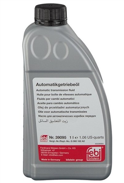AUTOMATIC TRANSMISSION FLUID BMW 3 SERIES 2012-2016