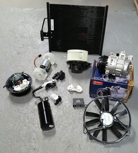 AIR CONDITIONING, HEATING VOLVO 850