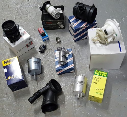FUEL INJECTION VOLVO 850 1993-1997