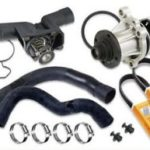 COOLING SYSTEM AND DRIVE BELTS BMW X5 2007-2013